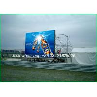 Buy cheap High Resolution LED Advertising Displays P8 Full color for Commercial Showing from wholesalers