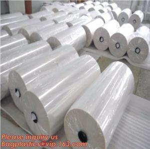 Polyolefin POF Heat Shrink Wrap Film,Pre-perforated film,POF clear heat shrink plastic protective roll film,PE Shrink Fi