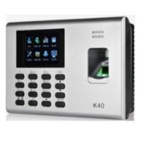 China K40 Excell Report Biometric Fingerprint Time Attendance wholesale