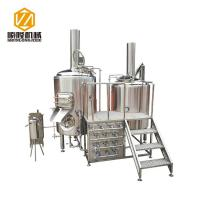 Buy cheap Multifunctional Beer Brewing Equipment Brewhouse Combanation With 8 Fermentation Tanks from wholesalers