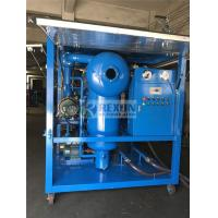 China Weather Proof Type High Efficiency Vacuum Electric Insulating Oil Purifier Machine for Power Plant Maintenance wholesale
