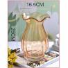 Europe type style falbala glass vase Manufactures