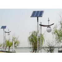 China Waterproof Solar Garden Post Lights , Solar Driveway Post Lights Anti - Corrosion wholesale