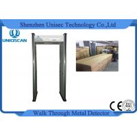 China CE/ISO certificated walk through metal detector with 6 independent zones LED screen wholesale