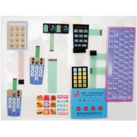 China RoHS standard Flexible PCB Membrane Switch, with 3M467 And 3M468 Adhesive For GPS wholesale