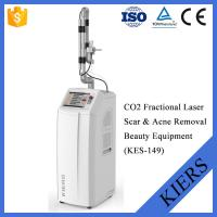 China Fractional CO2 Dermatology Laser Machines Stationary Style With Wrinkle Removal on sale