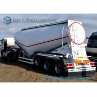 China 3 Axle 40 m3 Dry Bulk Tanker V Shape Lifting Cement Tank Container wholesale
