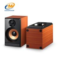 China OEM Perfect Sound Wood Mini USB 2.0 CH Gaming PC Speaker with Woofer wholesale