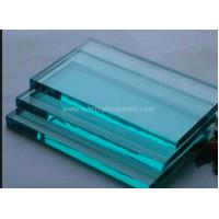 China Insulated Extra Clear Float Glass Sheets , Flat Back Painted Glass Partition Wall on sale