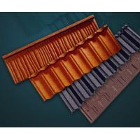 China hot dipped galvanized Metal Roofing Tiles Stone Chip , Executive circular roof tile wholesale