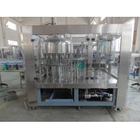 China Soda Washing Filling Capping Machine 4Kw With 6 pcs Capping Head wholesale