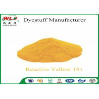 China C I Reactive Yellow 181 Reactive Dyes Yellow P-RRN Chemicals In Pad Dyeing wholesale