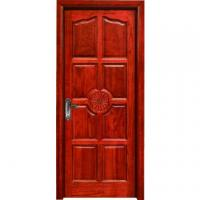 China hotel flush room door design MDF melamine door wood interior door wholesale
