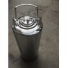 China Mirror Polished 5 Gallon Corny Keg , Cornelius Soda Keg Reliable Seal Condition wholesale