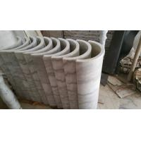 China Marble Columns Guangxi White Marble Doric Columns China Carrara White Marble Pillars wholesale