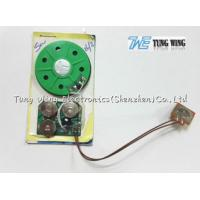 China 30 Seconds Toy Sound Module Birthday Greeting Card 40mm Diameter With A Button wholesale