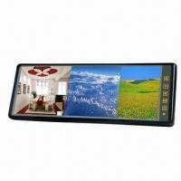 China 10.2-inch rearview mirror monitor with built-in image split display wholesale