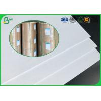 China Good Stiffness 600g 800g 900g Large Size Two Sides Coated White Duplex Board wholesale