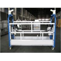Quality Aluminium Alloy Powered Suspended Platform Cradle Swing Stage for sale