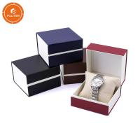 Embossed Surface Finishing Cardboard Watch Box , Plain Cardboard Box With Lid