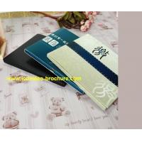 """China Portable EU Cover 4.3"""" Screen LCD Card / Video Brochure Booklets Commerical Use wholesale"""