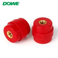 China Delivery at Sight MOQ 1PC Brass Insert Glassfibre SM30 m6 electrical Bus Bar Insulator hexagonal insulator wholesale