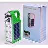 China Quality LED Solar Energy Light with Solar panels Poly 6V*1W and Lead acid battery 4V/3200MAH wholesale