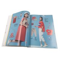 China Fashion  A4  Magazine Printing Services / Perfect Bound Brochure Printing wholesale
