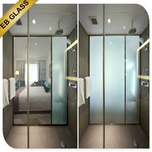 China smartglass hotel bathroom partition EBGLASS wholesale