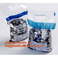 China Plastic Mailing Bags Tamper Evident Security Bank Deposit Proof Security on sale