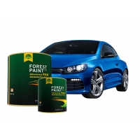 China Clear Acrylic Blue Pearlescent Car Paint High Color Saturation wholesale