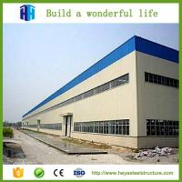 China HEYA steel frame structural two story roof trusses storehouse in kuwait on sale