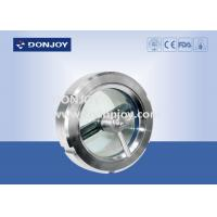 China Waterproof Sanitary Design Stainless Steel Sight Glass / Flanged Sight Glass wholesale