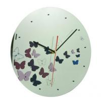 """Buy cheap 12"""" Glass Wall Clock from wholesalers"""