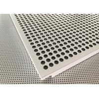China Akzo Nobel Powder Coated Matt White Finished Aluminium Suspended Ceiling Tiles on sale