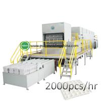 China high egg tray molding machine paper pulp molding machine wholesale