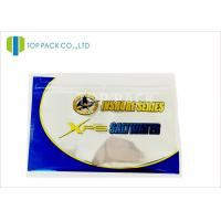 China Glossy Finished Fishing Lure Packaging / Fishing Bait Pouch Zip Lock Reusable wholesale