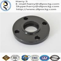 China high quantity orifice flanges black malleable iron threaded floor flanges wholesale