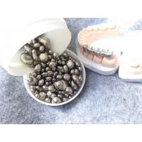 China 8.5cm³ Density Base Metal Alloys In Dentistry Casting Full Crown Silver Color wholesale