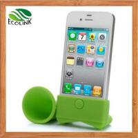 China China Phone & PC Accessories /Silicone Horn Speaker Mobile Accessories for iPhone 6 wholesale