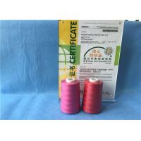 China Low Shrinkage Abrasion - Resistant Ring Spun Polyester Yarn 40/2 Color For TFO Machine wholesale