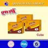 China Qwok 10g halal chilli and tomato flavour seasoning cube bouillon cube wholesale