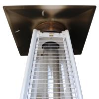 China Manual Operating Square Patio Heater Heater For Court Yards Energy Efficient wholesale
