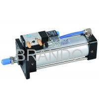 China 4V Series Aluminum Air Cylinder Valve Double Acting , Cylinder Solenoid Valve wholesale