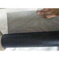China 1m X 14m Galvanized Steel Expanded Metal Mesh 0.3mm Thickness Three Color wholesale