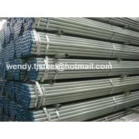 China Tianjin Port Wholesale Round Hot Dip Galvanized Iron Pipe Price For Construction wholesale