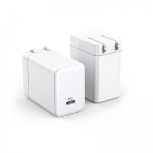China 65W EU/US Plug USB-C GaN Charger 5V 3A, 9V 3A, 12V 3A, 15V 3A, 20V 3.25A GaN Adapters wholesale