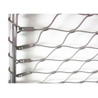 Quality Flexible X-tend Ferruled Stainless Steel Wire Rope Mesh For Balcony Balustrade for sale