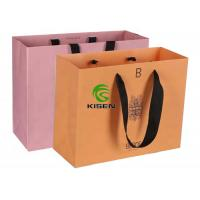 China OEM Packaging Recycled Paper Bags With Handles , Tote Christmas Paper Bags on sale