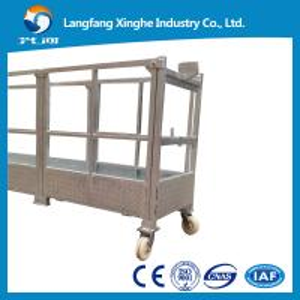 China hoist suspended working platform / electric suspended scaffolding / gondola platform wholesale